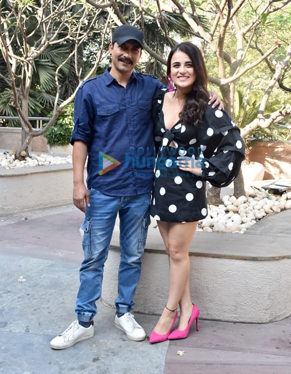 Photos Cast of Angrezi Medium snapped during promotions (5)