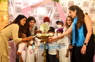 Photos: Geeta Basra, Farah Khan Ali snapped at Helping Hands Foundation event