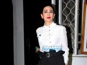 Photos: Karishma Kapoor spotted at Krome studio in Bandra