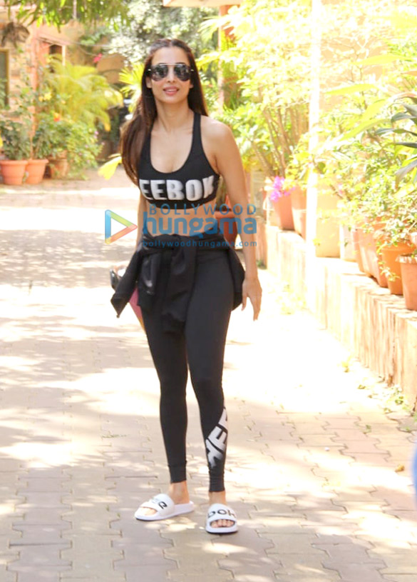 Photos: Malaika Arora, Genelia Dsouza and Riteish Deshmukh others snapped at the gym
