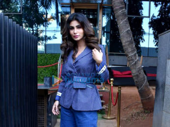Photos: Mouni Roy snapped during Holi Mein Rangeele song press conference