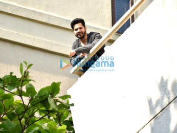 Photos: Varun Dhawan snapped at dubbing studio