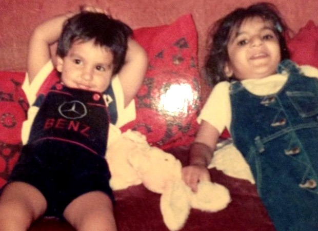 Ranveer Singh shares a cute childhood picture with his sister and it is proof that he was the coolest kid