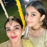 Raveena Tandon takes an auto to her niece's mehendi ceremony, watch video