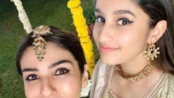 Raveena Tandon takes an auto to her niece's mehendi ceremony, watch video
