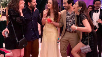 Sanaya Irani, Mohit Sehgal, Dhrashti Dhami, Nakuul Mehta and wife Jankee are all smiles in these wholesome pictures!