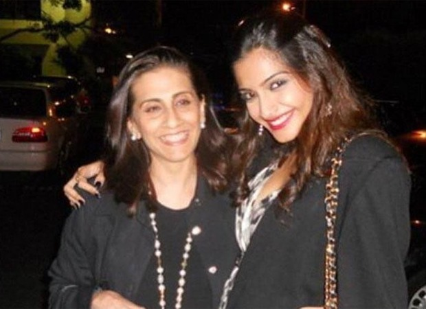 Sonam Kapoor Ahuja sends out a birthday wish for mother with a throwback picture