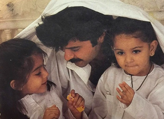 Sonam Kapoor Ahuja shares a throwback picture with Anil Kapoor and Rhea Kapoor as she misses them