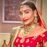 Surbhi Chandna dazzles as a bride as she shoots for the last episode of Sanjivani!