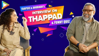 Taapsee & Anubhav's ENTERTAINING Interview on Thappad, Patriarchy & Dialogues Funny Quiz