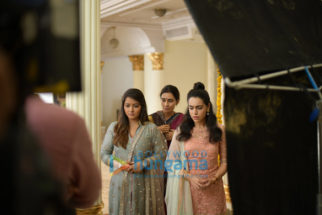 On The Sets of the movie Thappad