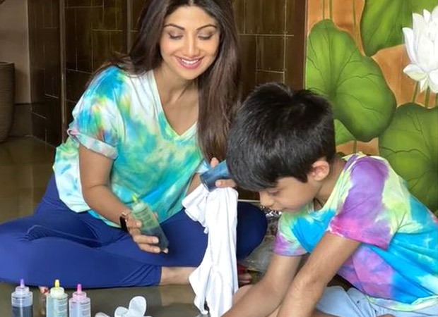 Coronavirus outbreak: Shilpa Shetty answers the million dollar question on how to keep your child occupied under quarantine