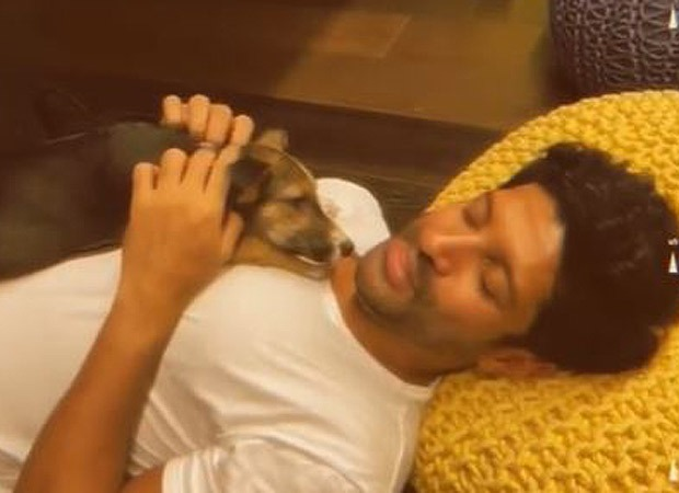 Farhan Akhtar shares a cute video on how he is enjoying the 'stay home' time and it is aw-dorable!