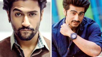 Vicky Kaushal gives an Andaz Apna Apna reference while answering a question on his collaboration with Arjun Kapoor