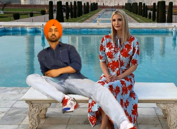 Diljit Dosanjh shares a picture with Ivanka Trump; says she insisted on visiting the Taj Mahal