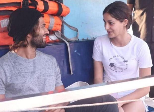 Watch: Ananya Panday and Vijay Deverakonda take a boat ride to reach the shooting spot