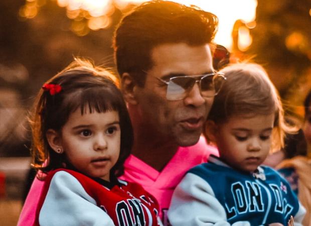 Watch: Isolated at home, Karan Johar's twins Yash and Roohi turn painters