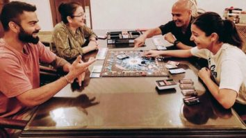"""Make the most of these moments"" - Anushka Sharma shares picture of Virat Kohli and her parents playing monopoly"