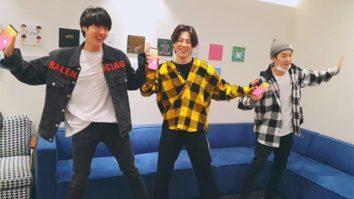 BTS members Suga, Jin and Jimin turn itup on 'Happy', 'Havana', 'Con Calma', 'Rasputin' and ut will make you get up and just dance!