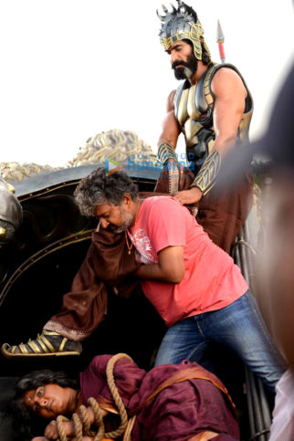 On The Sets from the movie Baahubali 2 – The Conclusion
