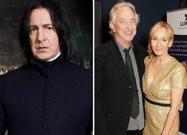 Harry Potter author J.K. Rowling remembers Alan Rickman in an emotional post