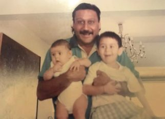 Jackie Shroff and Tiger Shroff's throwback picture is too cute for words!