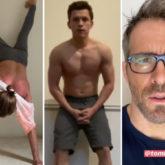 Jake Gyllenhaal attempts Tom Holland's shirtless handstand challenge, Ryan Reynolds has hilarious response