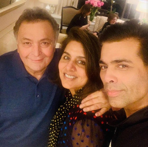 """Karan Johar mourns the tragic loss of Rishi Kapoor, says """"a piece of my growing years has been snatched away"""""""