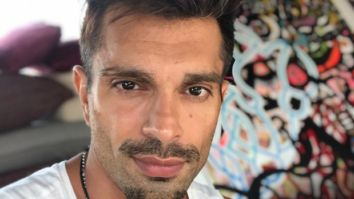 Karan Singh Grover puts soil to its maximum use, flaunts his physique as he works out shirtless