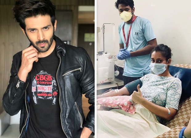 Kartik Aaryan is proud of first Covid-19 survivor who donated her blood plasma after recovery