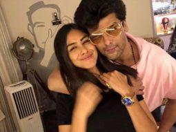 Kushal Tandon and Mrunal Thakur make their relationship Insta-official!