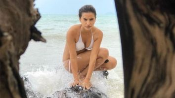 Patralekhaa sizzles in a white bikini, boyfriend Rajkummar Rao leaves a cheeky comment
