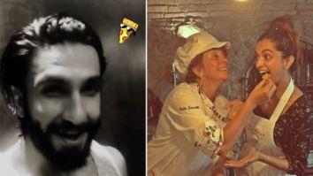 Ranveer Singh can't contain his excitement as Deepika Padukone makes pizza amid lockdown