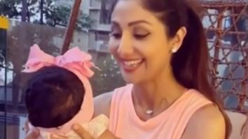 Shilpa Shetty's daughter Samisha turns two months old, shares an adorable video with her