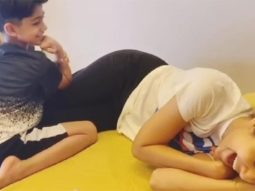 Shilpa Shetty's son Viaan gives her massage, she promises to bake a cake, watch video