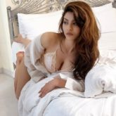 Urvashi Rautela turns up the heat with her latest image in lingerie, asks her fans help for a caption