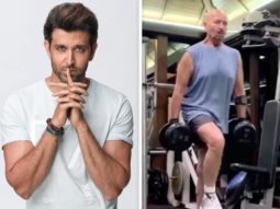 """""""I think the virus should be afraid of him,"""" says Hrithik Roshan while sharing a video of Rakesh Roshan's intense workout"""