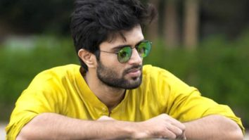 """""""We might play heroes on screen but you are the true heroes,"""" says Vijay Deverakonda as he thanks the police force"""