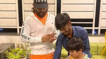 Allu Arjun celebrates his personal assistant's birthday at his residence