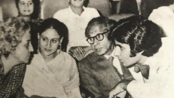 Amitabh Bachchan shares an unseen family picture from the premiere of Sholay; says they watched the film till 3 am