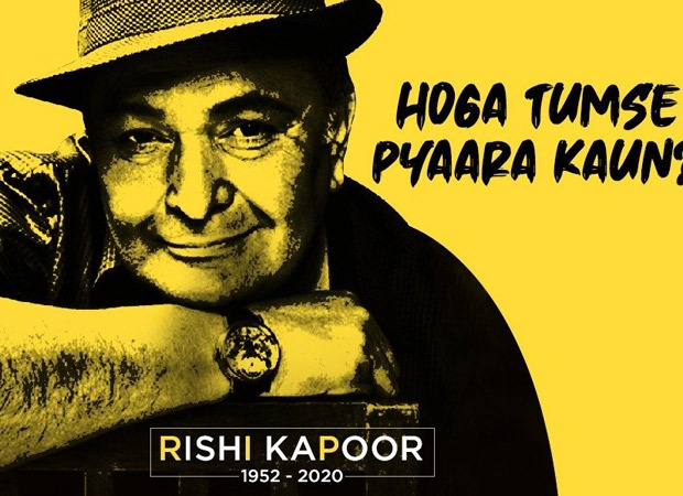Mumbai Police give a fitting tribute to Rishi Kapoor