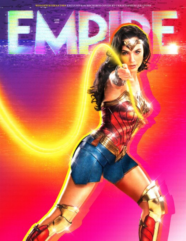 Wonder Woman 1984 actress Gal Gadot looks fierce on the new covers of Empire magazine
