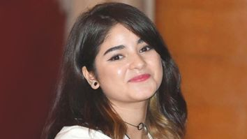 Zaira Wasim urges everyone to stop praising her and says it is dangerous