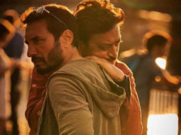 """Homi Adajania shares throwback picture of Irrfan Khan from Angrezi Medium, says """"you shone brighter than anything in the universe"""""""