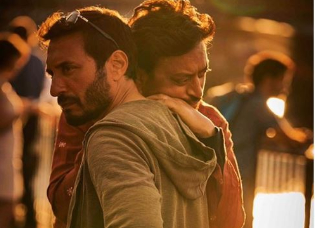 "Homi Adajania shares throwback picture of Irrfan Khan from Angrezi Medium, says ""you shone brighter than anything in the universe"""
