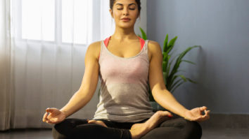 Jacqueline Fernandez shows us how Yoga, with inversions is the best pick for quarantine to stay fit