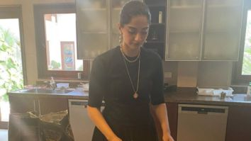 Sonam Kapoor bakes a cake for the family, and mother-in-law Priya Ahuja is all praises