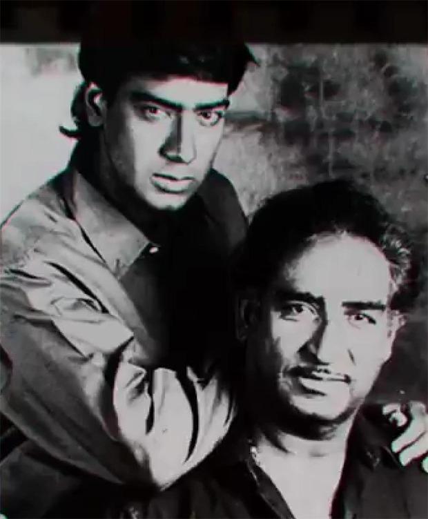 Ajay Devgn remembers his father Veeru Devgan on his one year death anniversary