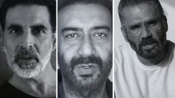 Akshay Kumar, Ajay Devgn, Suniel Shetty and more feature in Gully Gang Entertainment's trilingual music video to spread awareness about COVID-19
