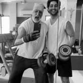 Amitabh Bachchan and Agastya Nanda are twinning and winning with their gym selfie